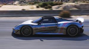 porsche 918 racing 8 paintjobs for se7enmoon u0027s porsche 918 spyder gta5 mods com