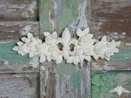 chic mouldings appliques and mouldings shabby toulouse rose