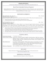 sample resume for senior software engineer software engineer resume example embedded software engineer resume example