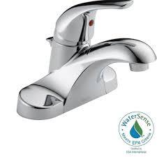 Small Bathroom Faucets Bathrooms Design Bathroom Delta Foundations In Centerset Single