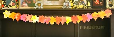 b is 4 fall thanksgiving leaf banner centerpiece tbc craft hop