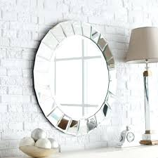 mirror wall art diy mosaic how hang heavy flush mount hangers