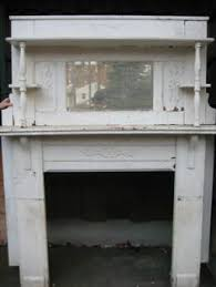 Shabby Chic Fireplace by Shabby White Chic Victorian Fireplace Mantel Headboard