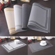 dining room table mats descargas mundiales com pvc insulation bowl placemats kitchen dining room pad western table mat china mainland online get