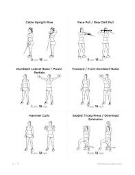 arm workouts health and fitness training