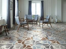 indoor tile for floors porcelain stoneware patterned frame