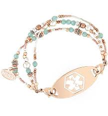 gold tag bracelet images Rhythm and blues medical id bracelet lauren 39 s hope jpg