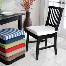 Black Wood Dining Chair Dining Room Attractive And Comfortable Chair Cushion Make Your