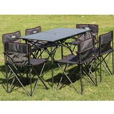 Portable Folding Picnic Table China Cing Aluminum Portable Folding Picnic Table With Umbrella