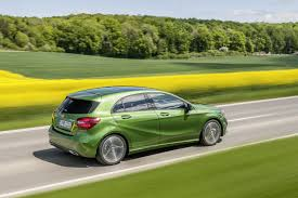 green mercedes 2016 mercedes benz a class priced from u20ac23 746 in germany