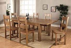 solid oak dining table and 6 chairs solid oak kitchen table and 6 chairs table vintage industrial modern