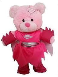 build your own teddy pink bat girl for 16 40cm teddy bears build