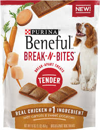 purina beneful break n bites tender chicken with carrots u0026 sweet