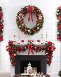 Outdoor Christmas Decoration Ideas Martha Stewart by Personalized Christmas Stockings Christmas Fireplace Decoration