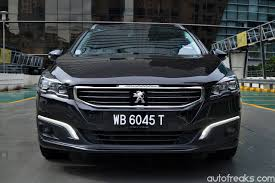 peugeot 508 2018 test drive review peugeot 508 sw thp lowyat net cars