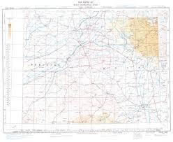 Hyderabad Map Aeronautical Charts And Maps Survey Of India