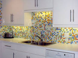 kitchen backsplash mosaic tile glass mosaic tile backsplash with white cabinets kitchen