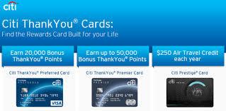 thank you card insert citi cards thank you rewards program citi