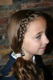 Little Girls Ponytail Hairstyles by French Front Subtle Side Ponytail Cute Girls Hairstyles