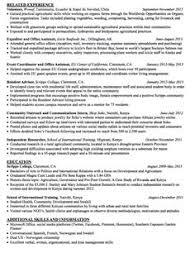 Facilitator Resume Sample by Sample Student Intern Resume Http Exampleresumecv Org Sample