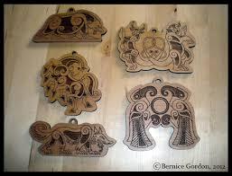 norse ornaments pre order 5 styles by tarkheki on