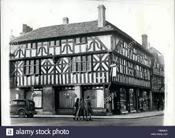 Tudor House Style 1962 A Tudor House In Stratford On Avon Much Of The Town Is