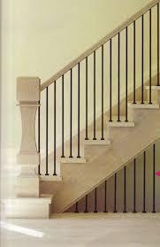 square u0026 straight metal balusters interiors stairs pinterest
