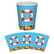 nautical party supplies bon voyage nautical theme party boating theme party supplies