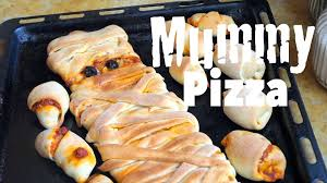 halloween recipes mummy pizza easy and fun for kids how to make