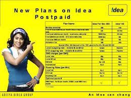 idea plans idea cellular 149 postpaid plan idea cellular adambakkam venus