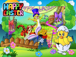 winnie the pooh easter eggs winnie pooh and friends wishing you happy easter