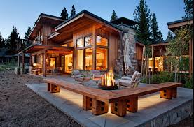 Chalet Style House Functionality In The Forest Magnificent Chalet Style House Sits