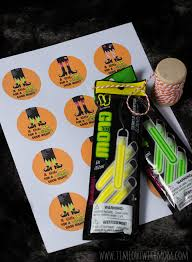 a witching good night glow stick tags