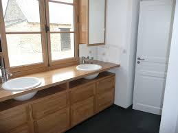 meuble de cuisine dans salle de bain amenagement placard salle de bain cgrio
