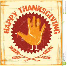 happy thanksgiving card design stock vector image 42694576