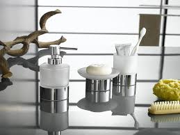 bath accessories sets ideas homesfeed white and metal grey of bath accessories sets