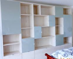 Small Bookcase With Doors Wall Units Extraordinary Wall Units With Doors Wall Unit Designs
