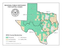 Lubbock Texas Map Texas Regional Public Defenders Office Public Defenders For