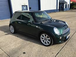 british racing green mini cooper s r53 british racing green in southampton