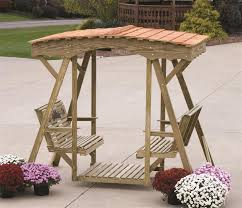 amish pine rose double lawn glider with roof gliders lawn and pine
