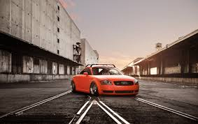 orange cars photo audi tuning tt stance car orange cars