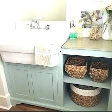 diy utility sink cabinet diy laundry sink cabinet creative under sink storage ideas diy
