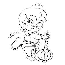 06 jai hanuman coloring u0026 activity book naha