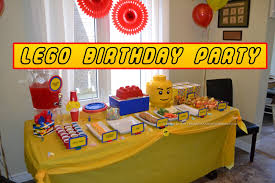 Birthday Party Decorations Ideas At Home Lifestyles Of The Stay At Home Mom Lego Themed Birthday Party