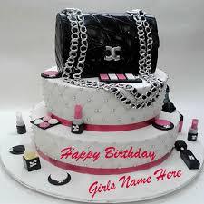 write name on birthday cakes for girls