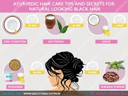 black hair care tips how to get natural looking black hair ayurvedic hair care tips