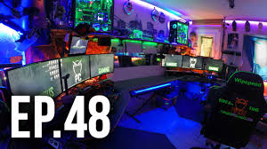Best Gaming Desk by Room Tour Project 48 Best Gaming And Desk Setups Youtube