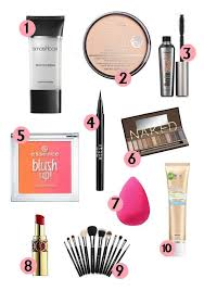 Makeup Basics 10 Must Makeup by Up Must Haves