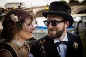 mariage steunk steunk wedding mariage steunk doucefleur design