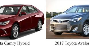 toyota prius vs camry toyota s avalon hybrid vs camry hybrid which is better